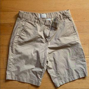 J. Crew Bermuda khaki  shorts size 4